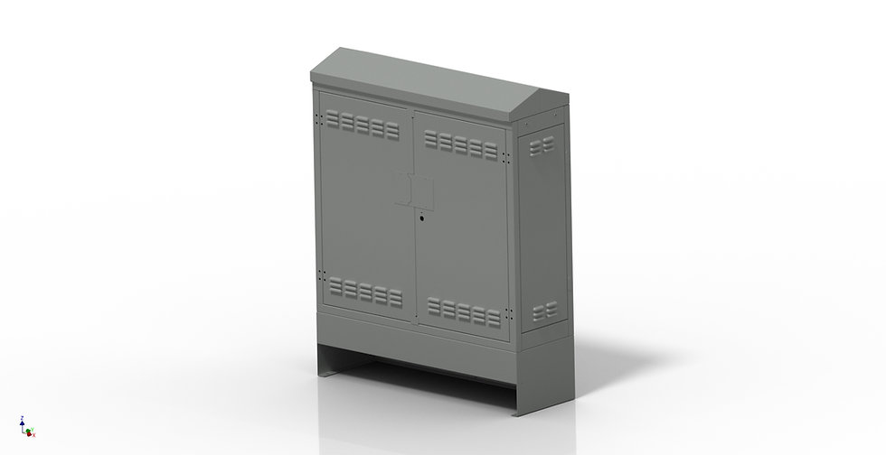 Double Door Power Enclosure