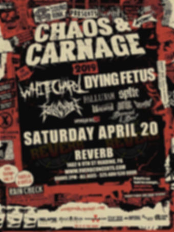 Chaos and Carnage Tour
