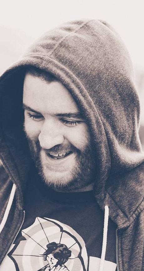Paul Neafcy writer hoodie