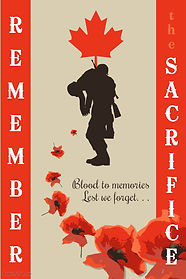 Copy of Remembrance Day Poster Template.