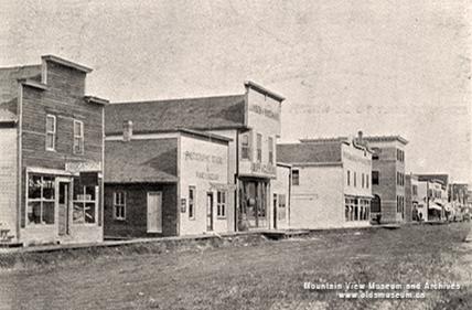 Main Street - Olds, Alberta, Canada - Dr
