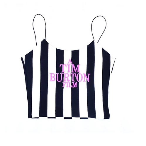 TIM BURTON CROP TOP