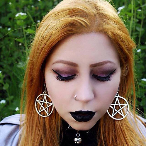 PENTAGRAM MID EARRINGS