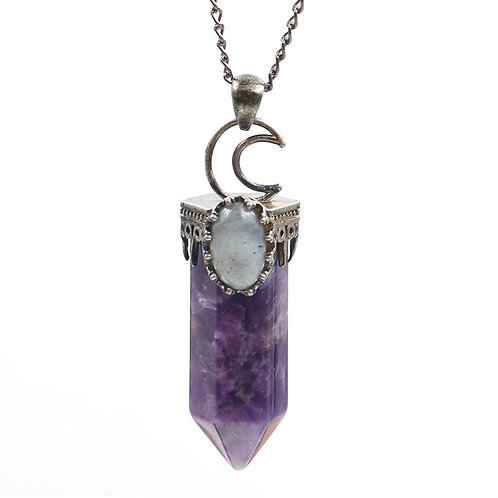 DELIRIUM AMETHYST NECKLACE