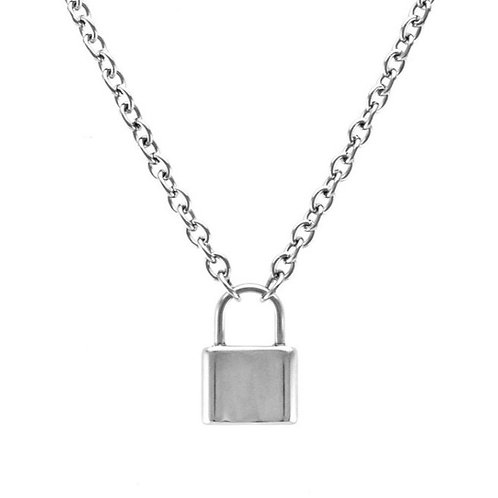 SMALL LOCK NECKLACE