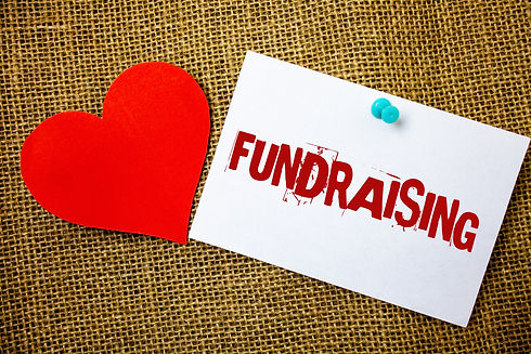 Conceptual hand writing showing Fundrais