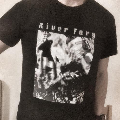 River Fury Tee - Five Year Plan Black