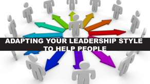DISC - Newsletter #046 ADAPTING YOUR LEADERSHIP STYLE TO HELP PEOPLE WHEN THEY ARE THE
