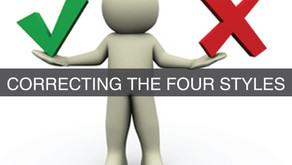DISC - Newsletter #072 CORRECTING THE FOUR STYLES