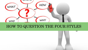 DISC - Newsletter #050 HOW TO QUESTION THE FOUR STYLES