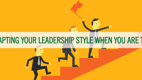 DISC - Newsletter #070 ADAPTING YOUR LEADERSHIP STYLE WHEN YOU ARE THE