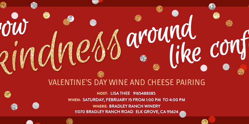 Valentine's Day Wine and Cheese Pairing