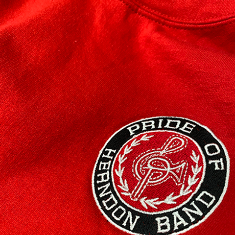 Pullover Hoodie - Embroidered - Small Logo - Classic