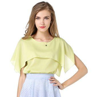 0f790cd465b3 Modelos de camiseta sin mangas de la gasa de las mujeres Camisas ...