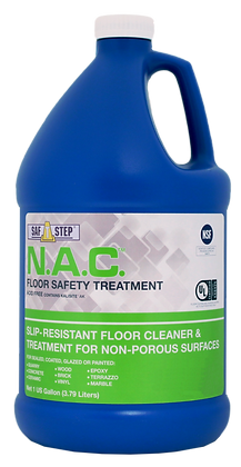 N.A.C. Slip resistant Floor Cleaner & Treatment