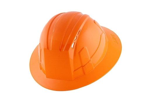 Full Brim Adjustable Hard Hat