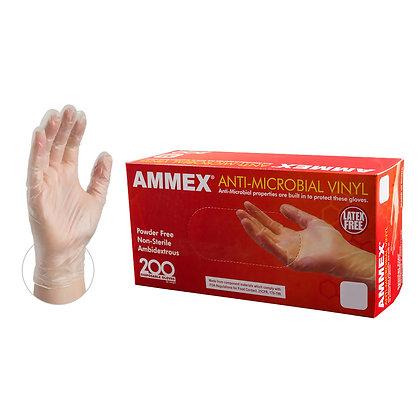 Anti-Microbial Vinyl Gloves