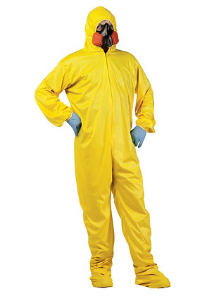 Chemical Splash Protective Suit