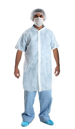 Visitor Gown - Short Sleeve