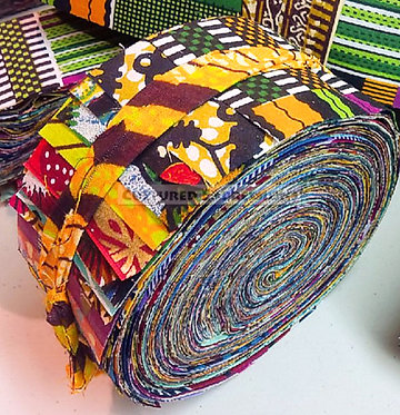 "African Brilliance Collection - 2.5"" Strip Bundle (50pc)"