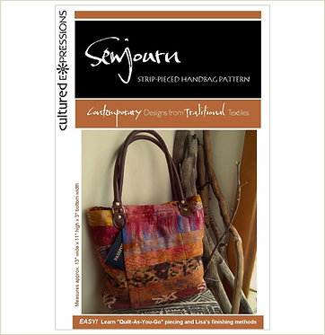 SewJourn Bag Pattern - DIGITAL