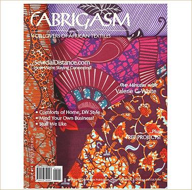 Fabrigasm Magazine (PRINT)