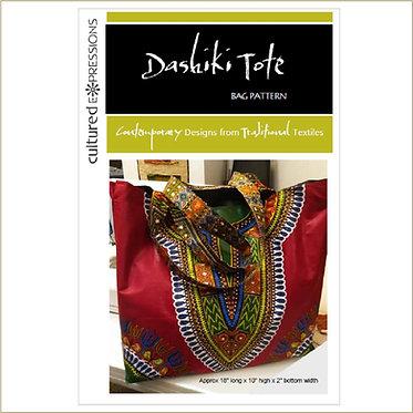 Dashiki Tote Bag Pattern - DIGITAL