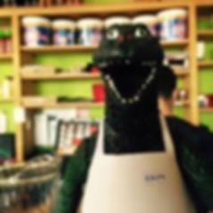 clocked dinosaur.jpg