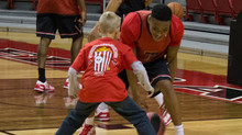 Trail's End Popcorn hosts Texas Tech Basketball Practice!