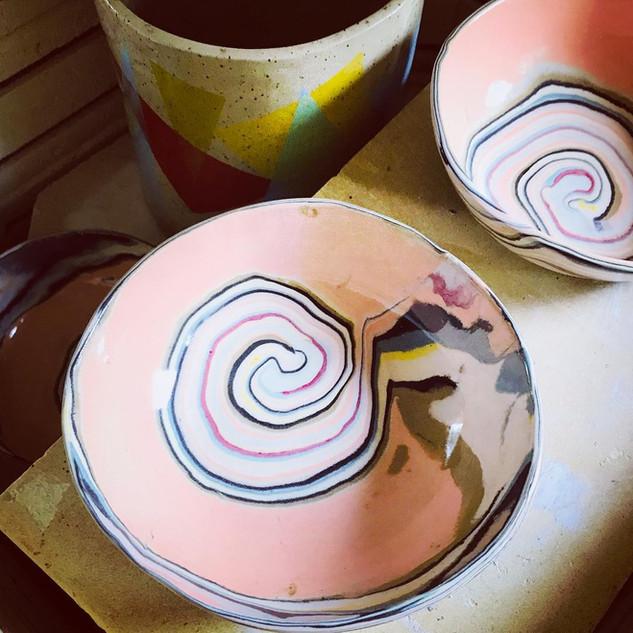 Nerikomi Bowls