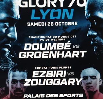 GLORY 70, Lyon