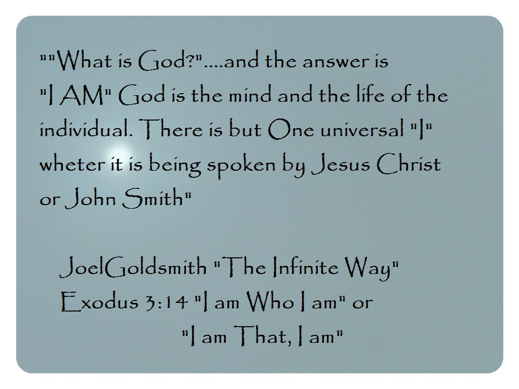 What is God? the mind and life of th