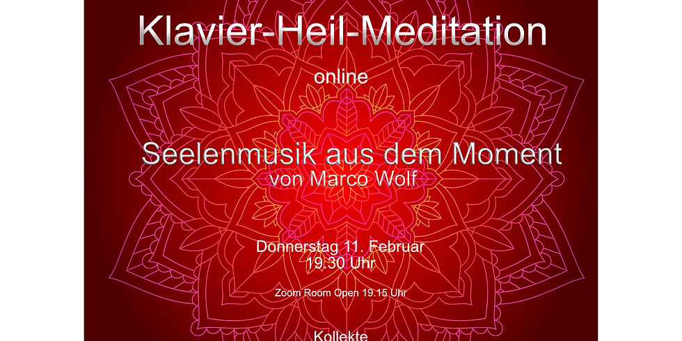 Klavier Heil-Meditation Online