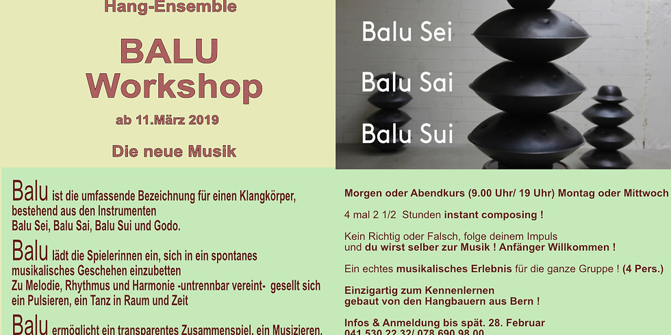 Balu Workshop (Hang)