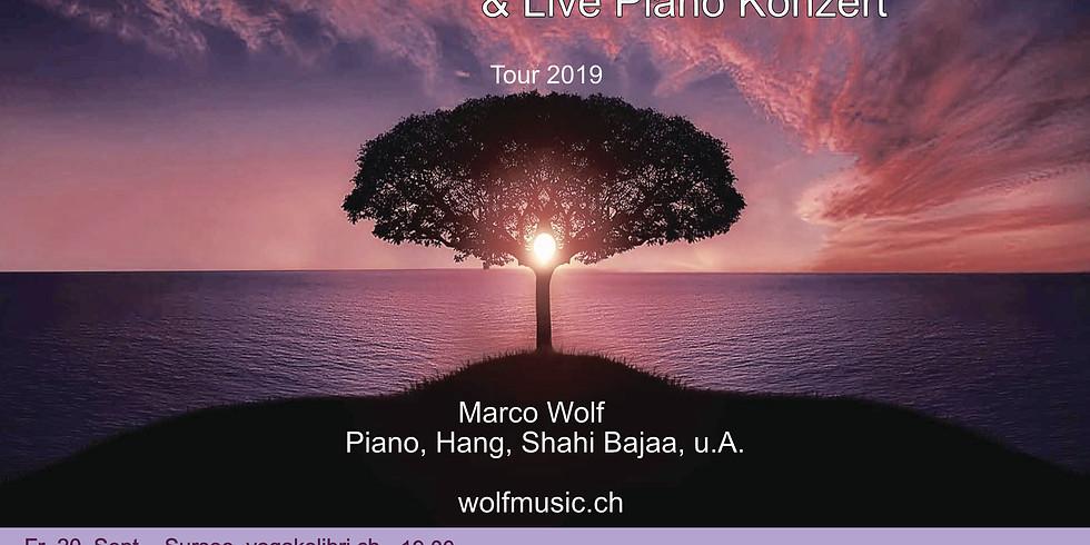 Yoga & Live Musik & Pianokonzert