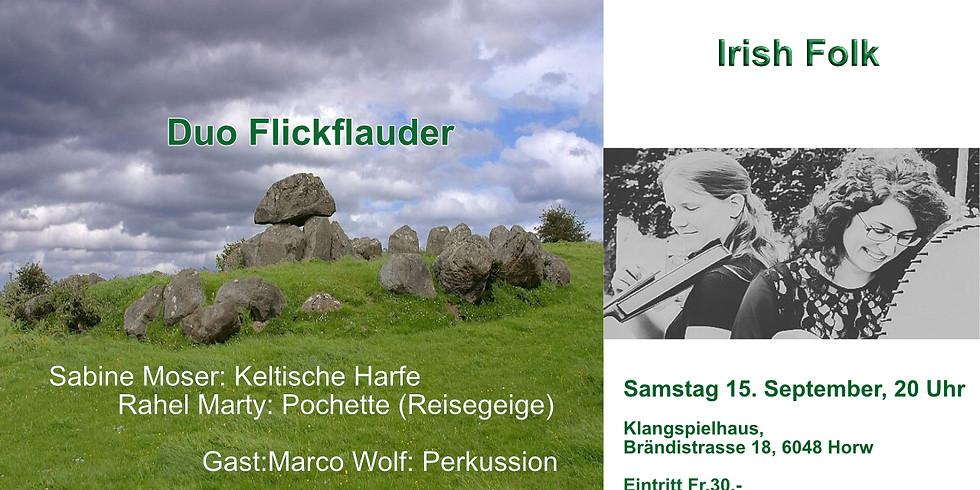 Irisch Abend mit Duo Flickflauder & Marco Wolf