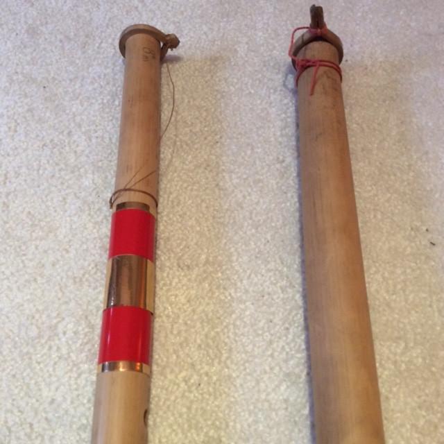 Bambus Flöten