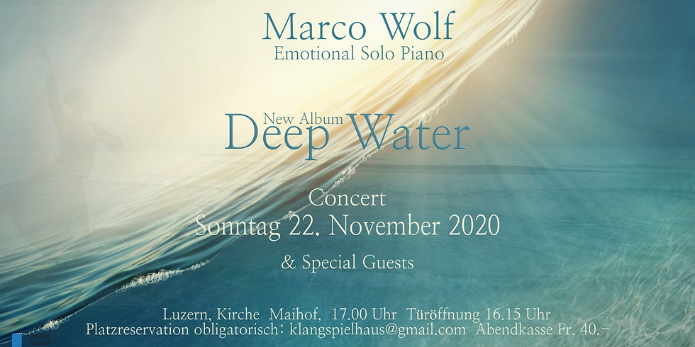 Piano Solo Konzert mit Marco Wolf