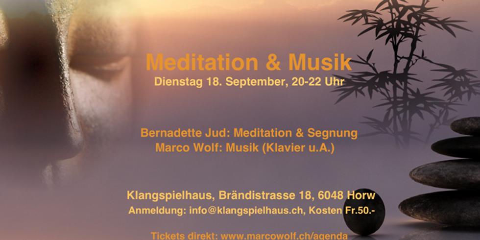 Meditation & Musik (Bernadette Jud & Marco Wolf)