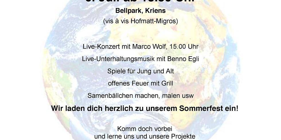Solo-Pianokonzert Marco Wolf im Rahmen des Erde-Fest