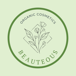 Green Floral Organic Cosmetics Line Art Logo.png
