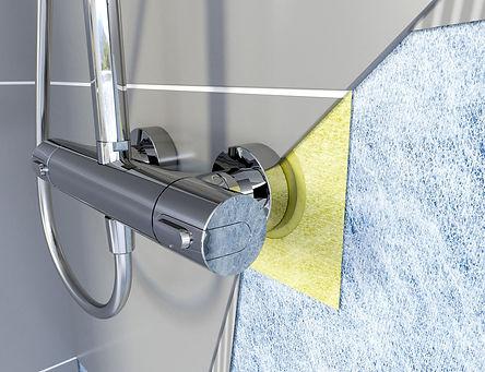 Shower Sealing System Kit for Tiling Mem