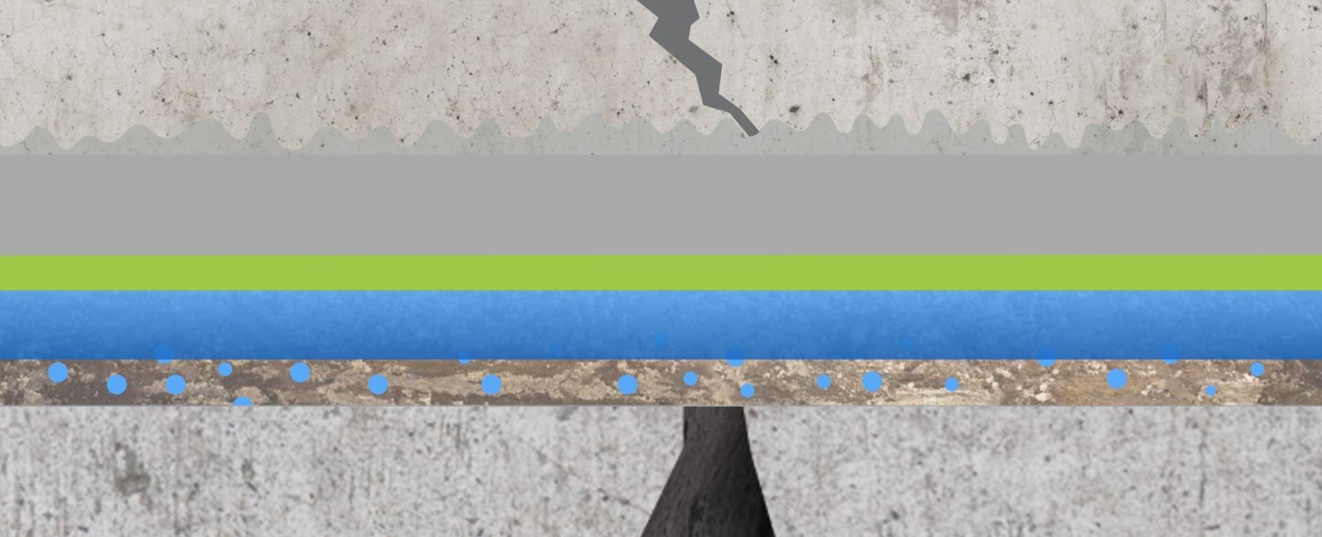 Crack in Cement
