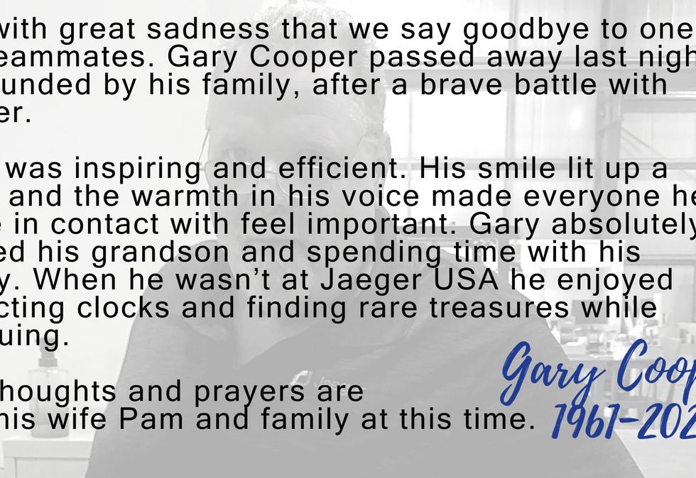 Gary Cooper Jaeger USA