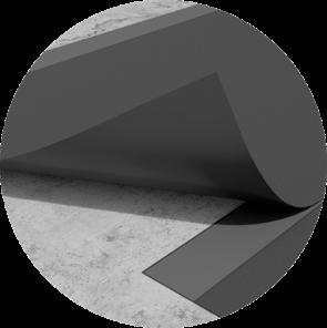 below flex sealing membrane