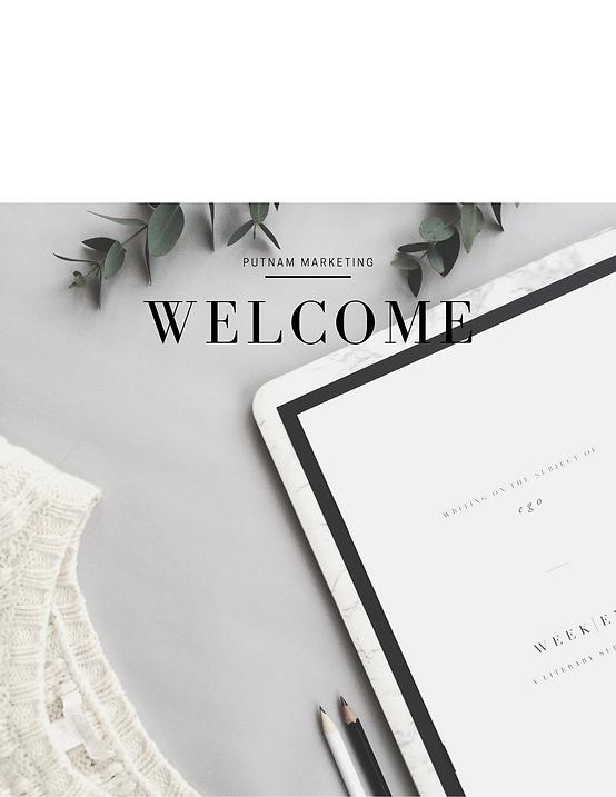 Putnam Marketing Welcome