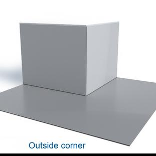 Doubleflex Outside Corner
