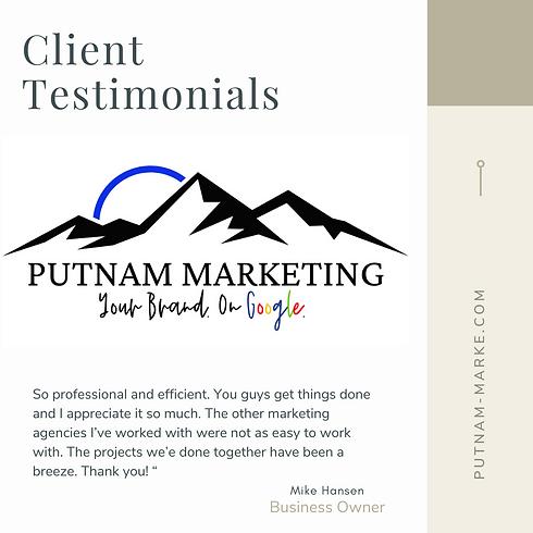Client Testimonial Mike Hansen