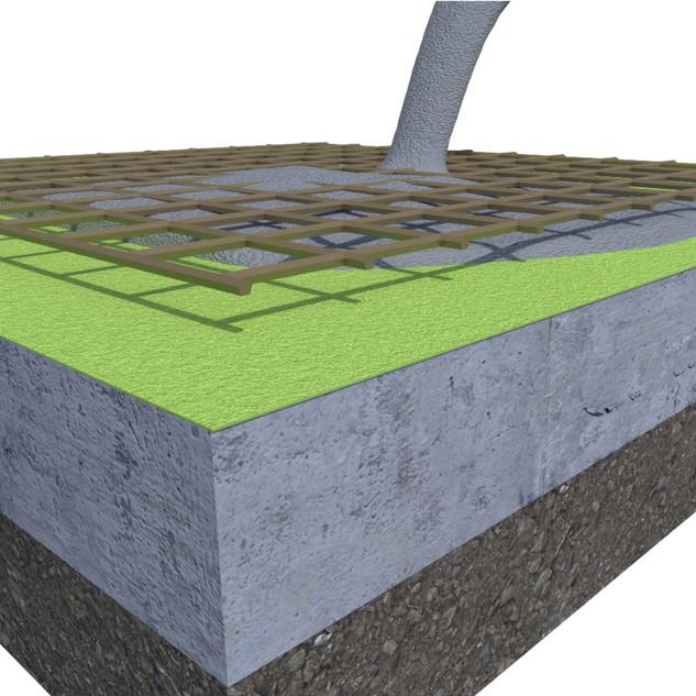 Doubleflex Concrete Application
