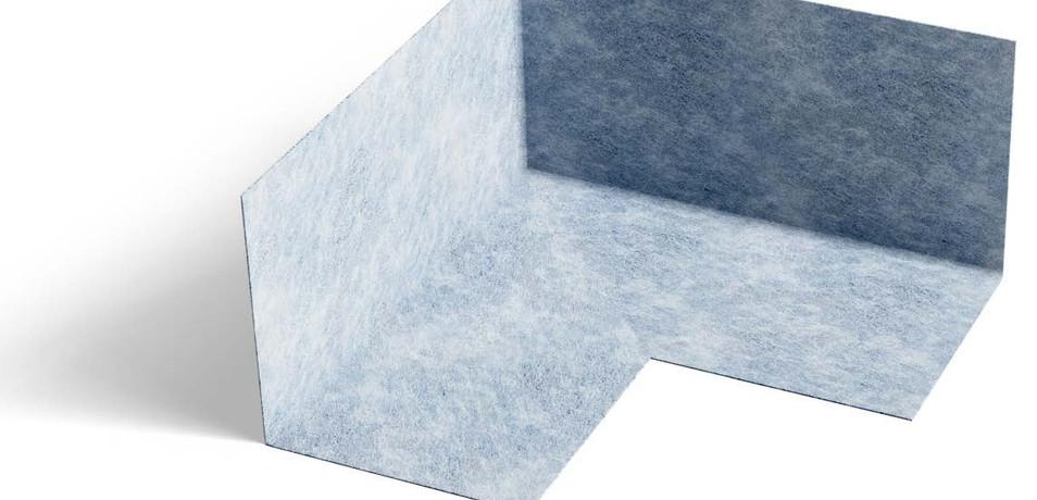 Waterproof Shower Sealing Components - Inside Corner